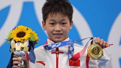 中國14歲跳水
